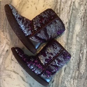 Sequin sparkle UGG boots